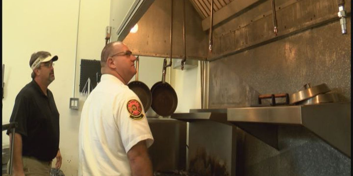 Thomasville firefighters check business for proper safety equipment