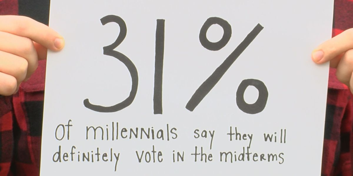 Millennial voter turnout could impact election results