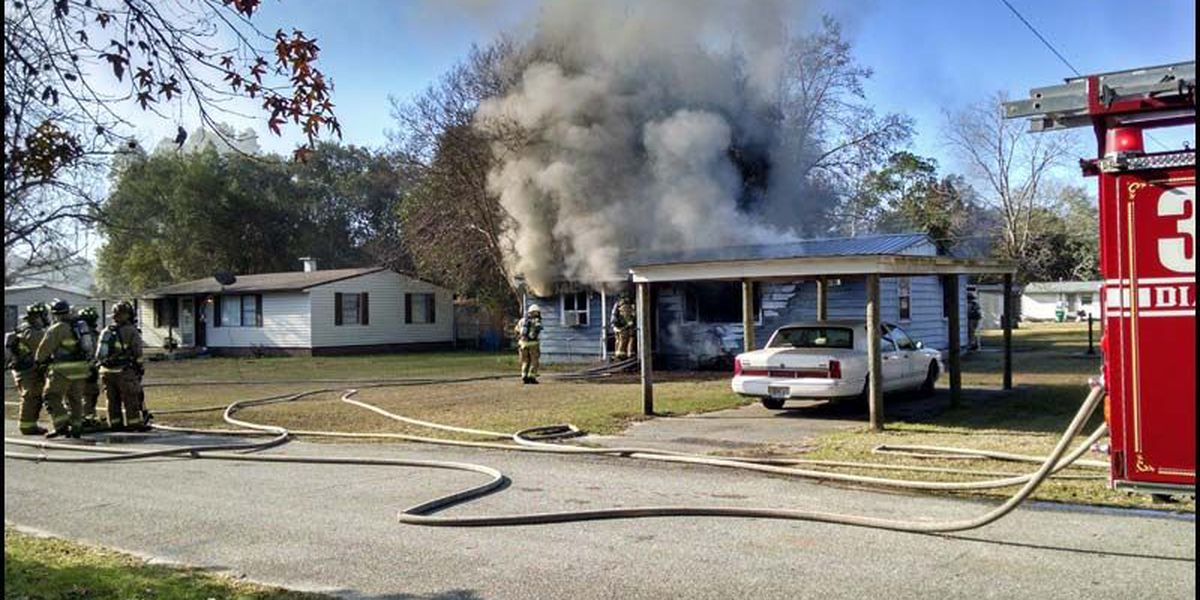 VFD responds to residential fire