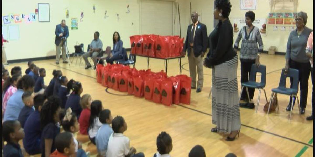 HEART organization gives out new sneakers