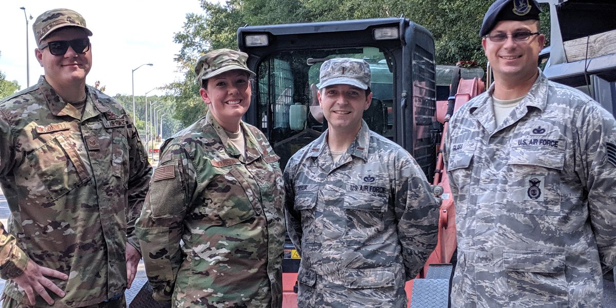 'Just part of our job': National guardsmen reflect on saving man's life after hurricane