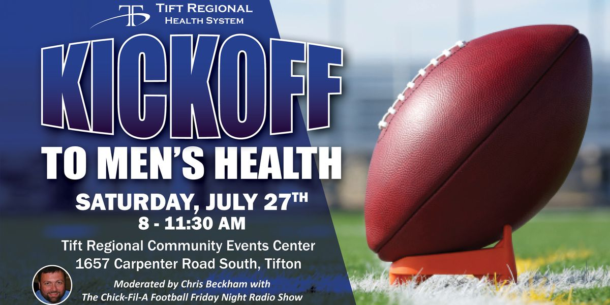 Get free health screenings this weekend at Tift Regional Medical Center's Kickoff to Men's Health event