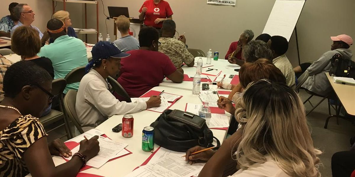Albany's Red Cross held shelter training for over 50 volunteers