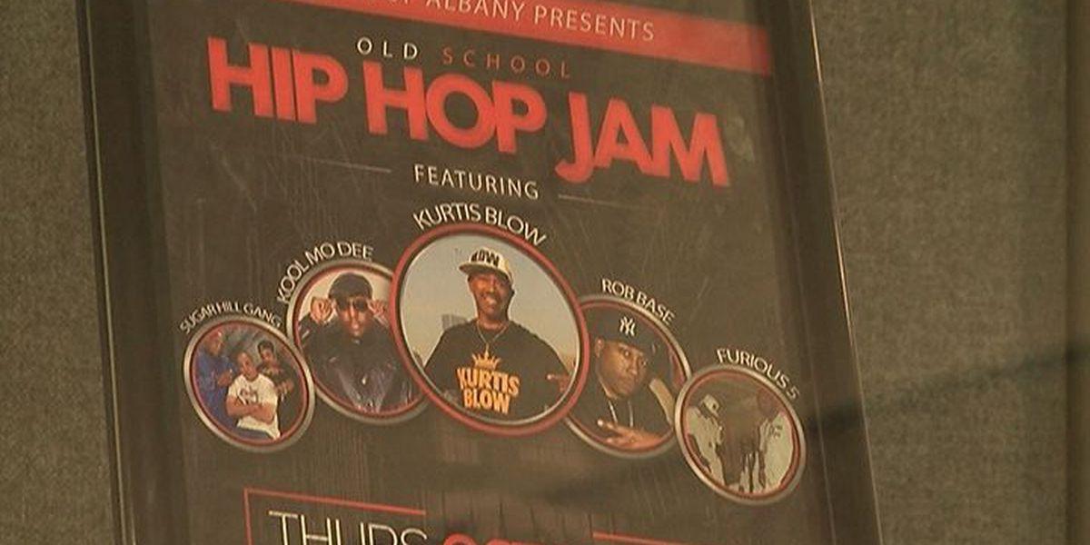 Old School Hip Hop Jam is tonight