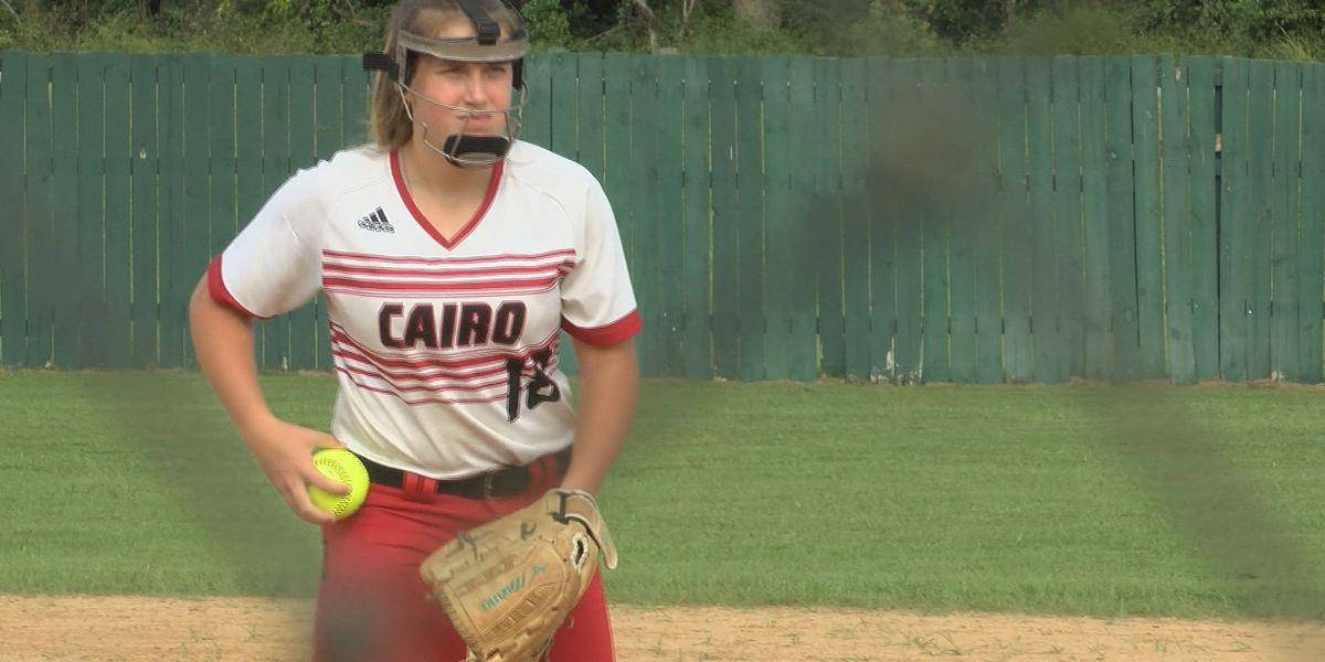 Cairo softball snaps Baconton's home winning streak