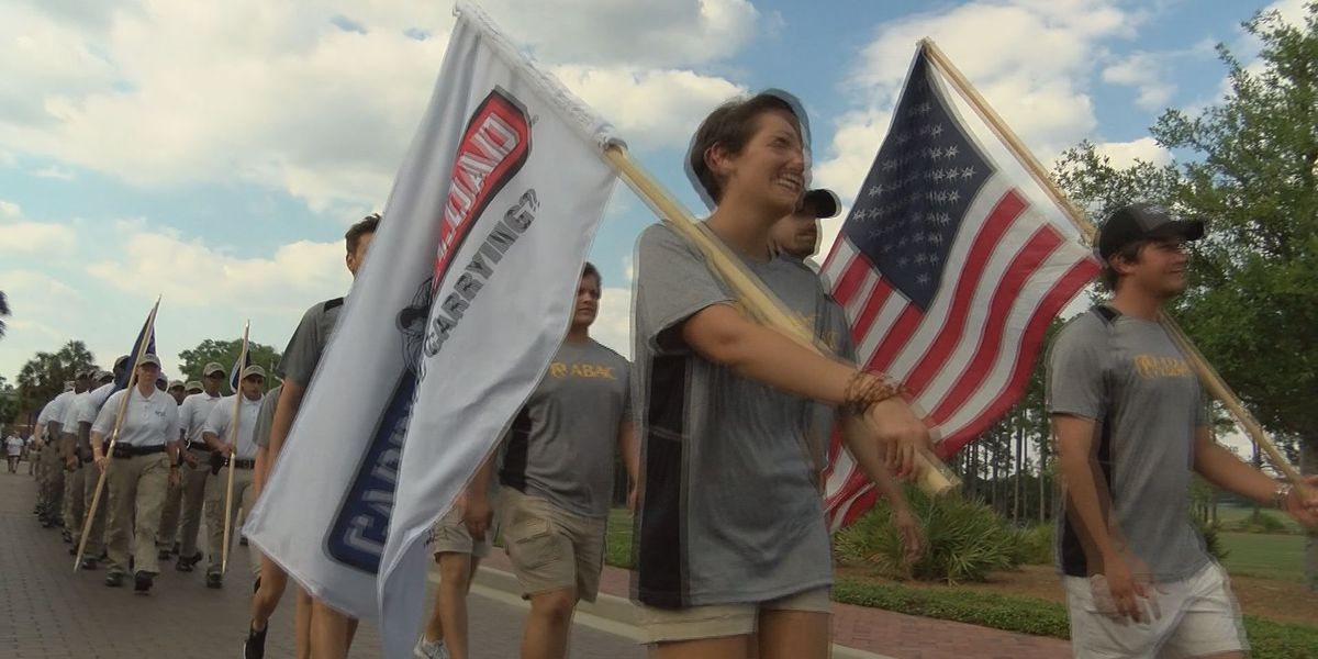 ABAC students walk to remember fallen officers & veterans