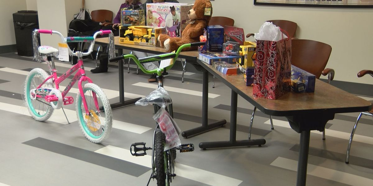Albany leadership gives to 'Toys for Tots'