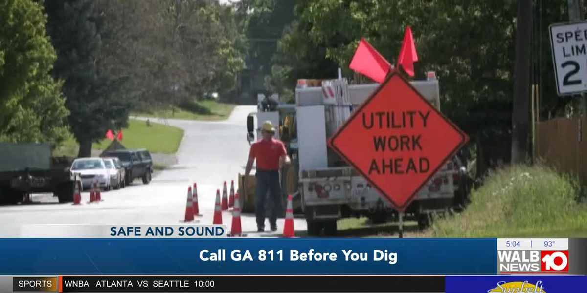 Safe and Sound: Call GA 811 before you dig