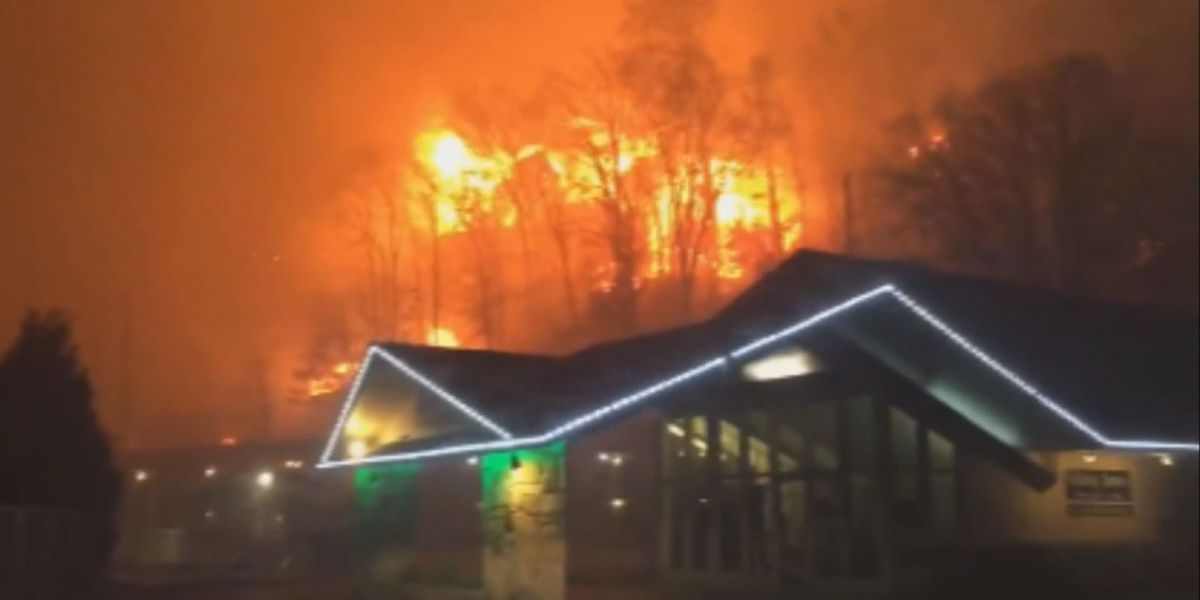 LIVE on TIG: Wildfires ravage Gatlinburg