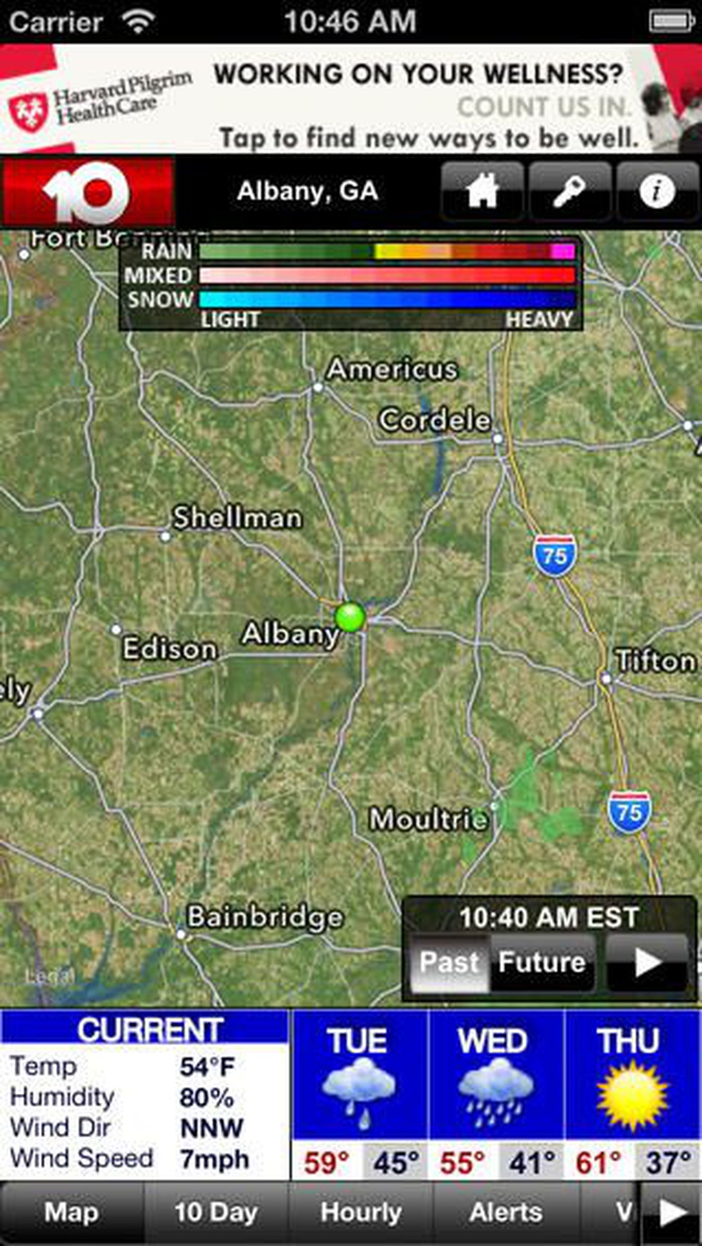 Albany Weather Map.Download Walb S Free Weather App For Iphone Android