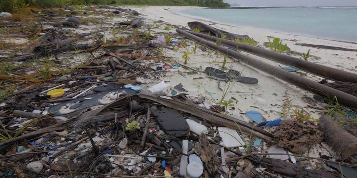 Tons of plastic litter found on remote islands in Indian Ocean