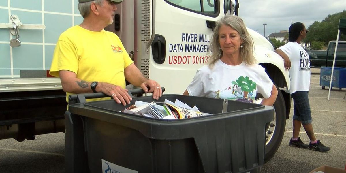 KADB holds free document shredding event