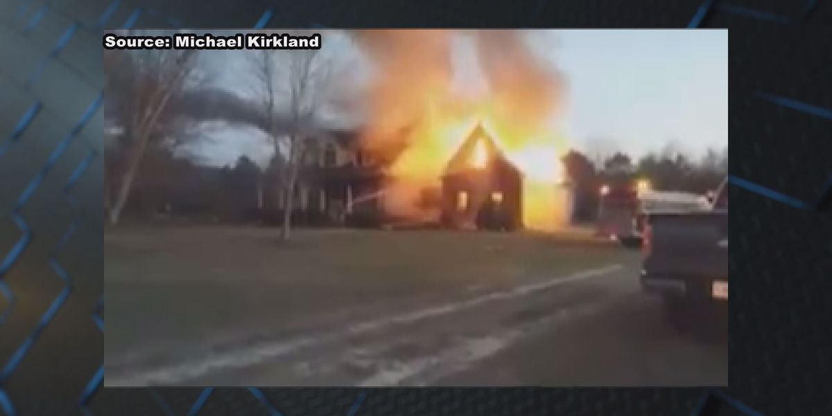 Firefighters respond to Coffee Co. house fire