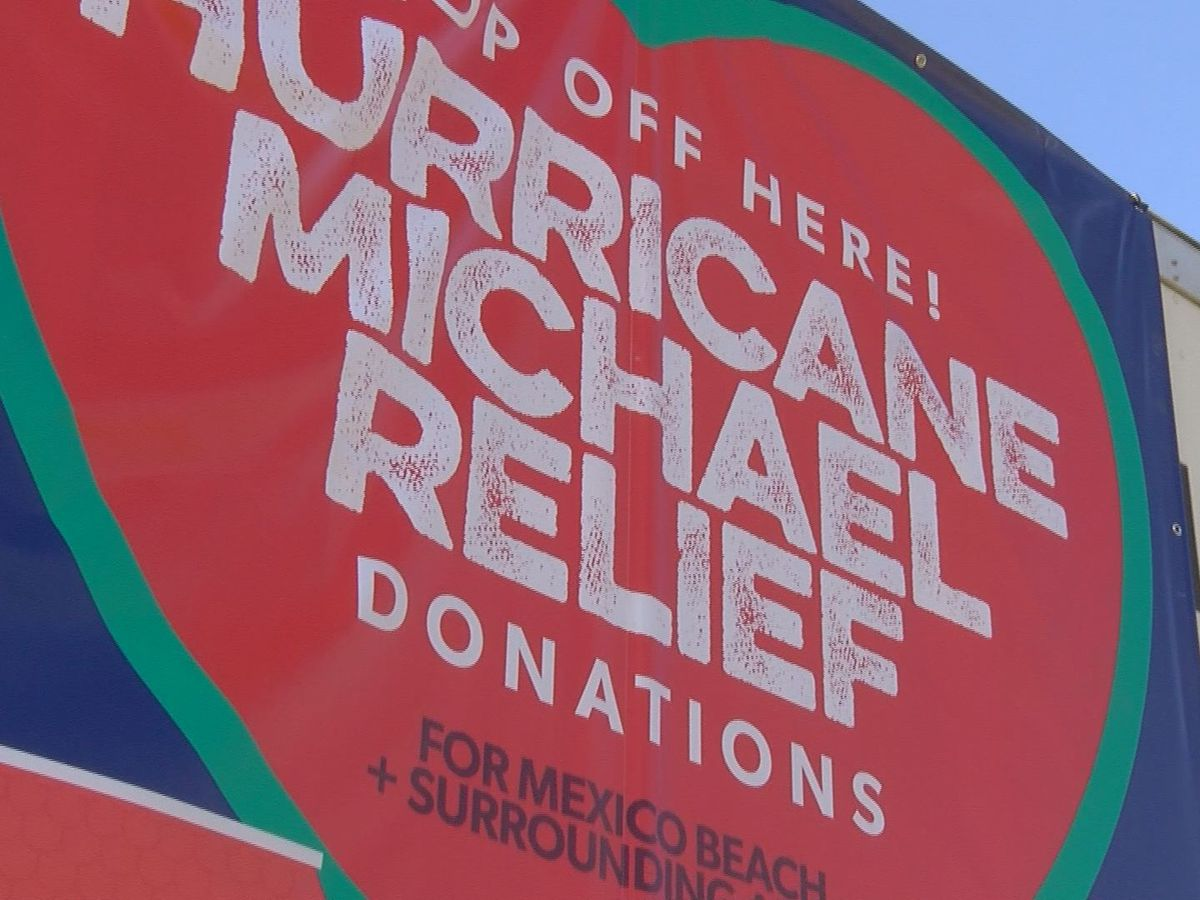 Relief effort for Florida begins in Southwest GA