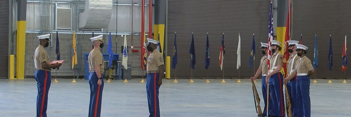 After almost 3 decades of service, MCLB sergeant major retires