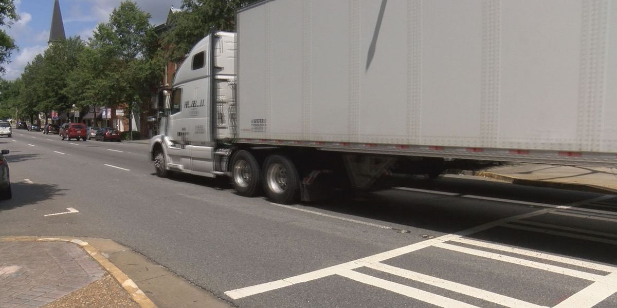 Downtown Valdosta may be too crowded for trucks