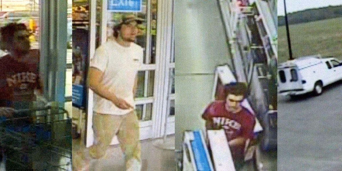 Bandits walk out of Walmart with big screens