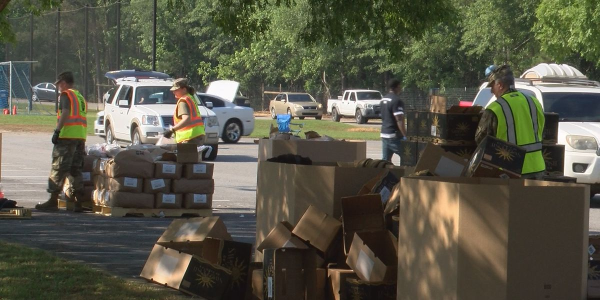 Second Harvest serves 1,700 boxes of food to Thomasville community