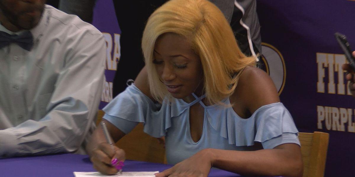Hurricane to Tornado: Kirstin Crook signs with Talladega