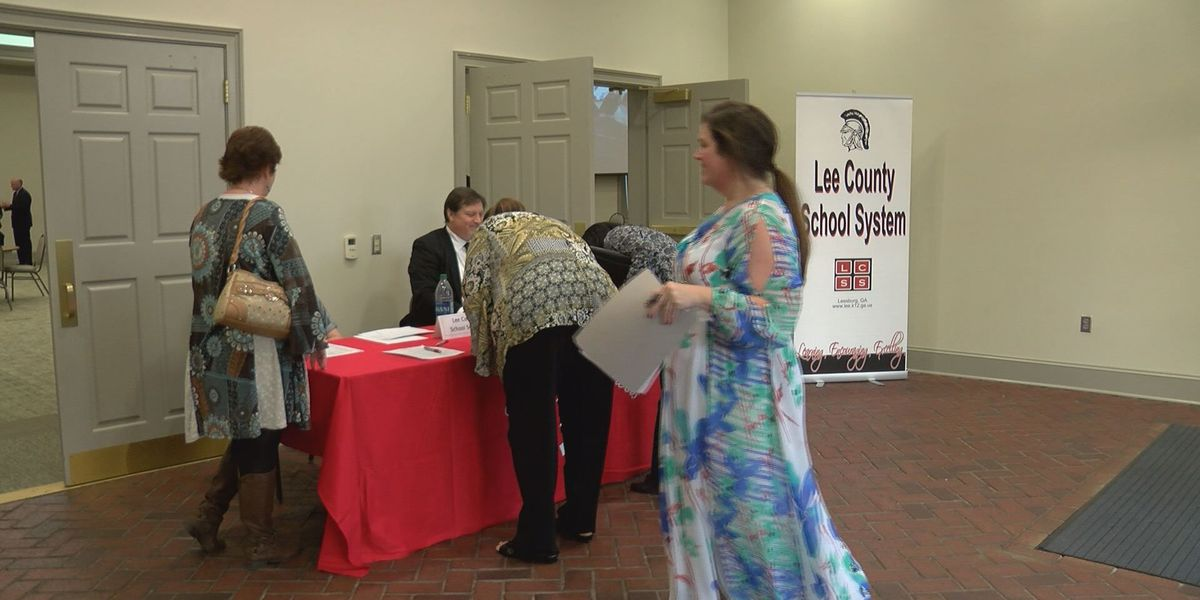 More than 100 attend Lee County School System's job fair