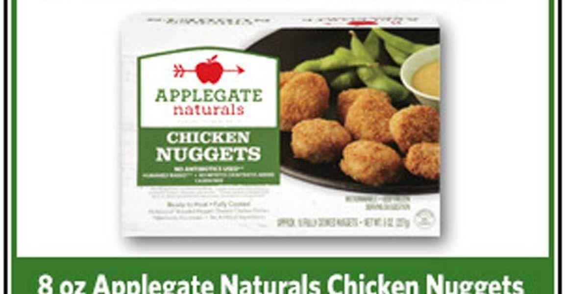 Applegate Naturals chicken nuggets recalleddueto contamination