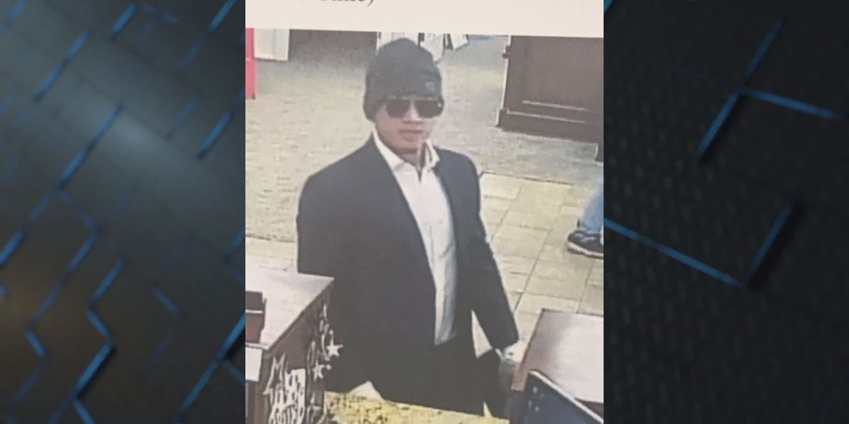 Thomasville police still searching for bank robbery suspect