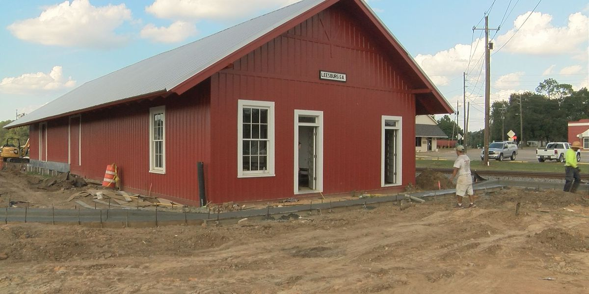 City, county departments to move into historic Leesburg train depot