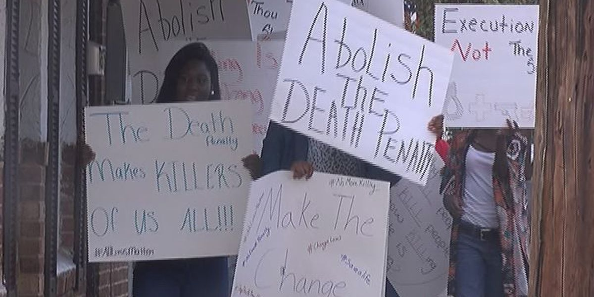 Terrell County NAACP protest execution
