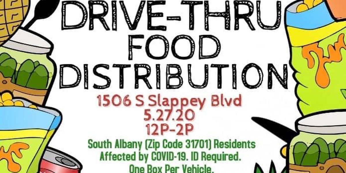 Drive-thru food giveaway set for those in Albany food desert
