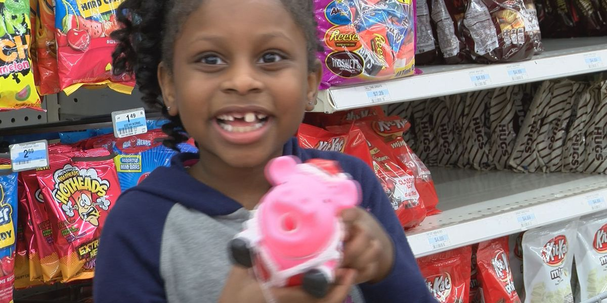 Kids all smiles during Dougherty Co. Sheriff's Office shopping spree
