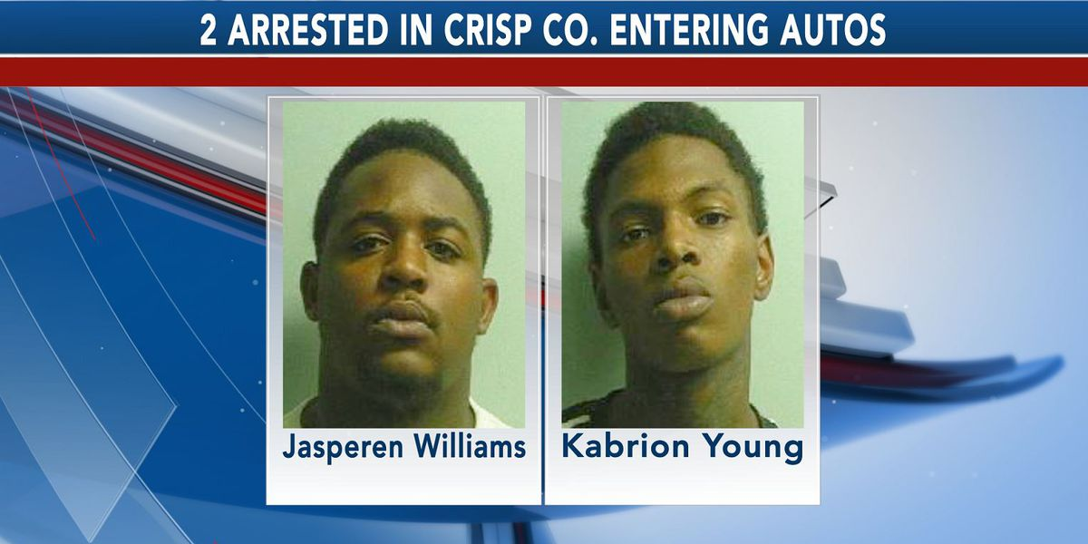 Update: Second suspect arrested in Crisp Co. entering autos