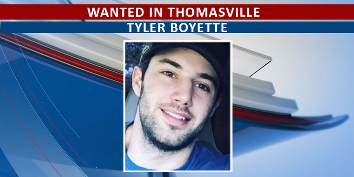 Thomasville PD looking for wanted man