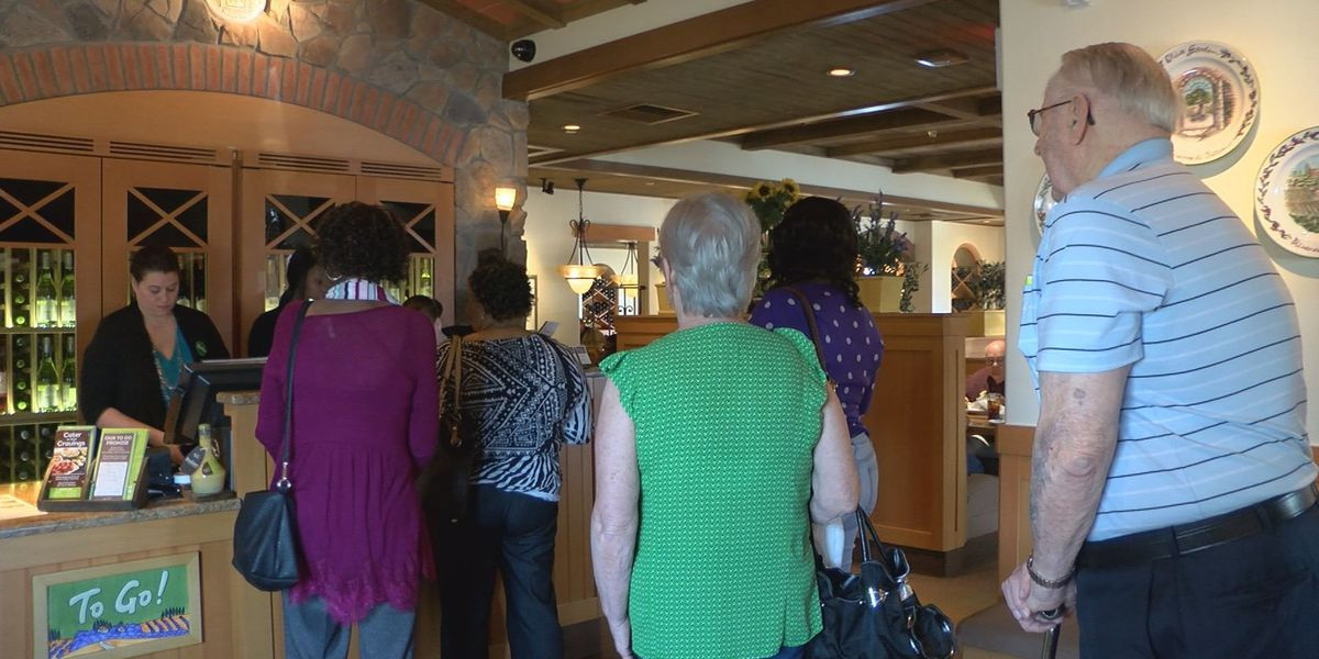 Veterans earn free entree at Olive Garden