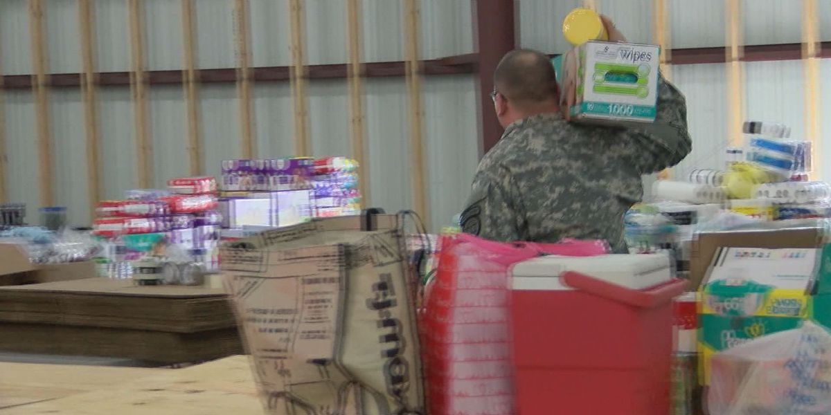 Turner Co. donation center still collecting items for storm victims