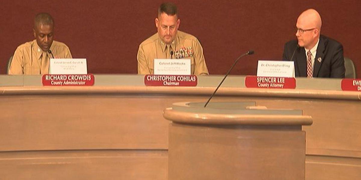 Mayor's forum introduces MCLB leadership