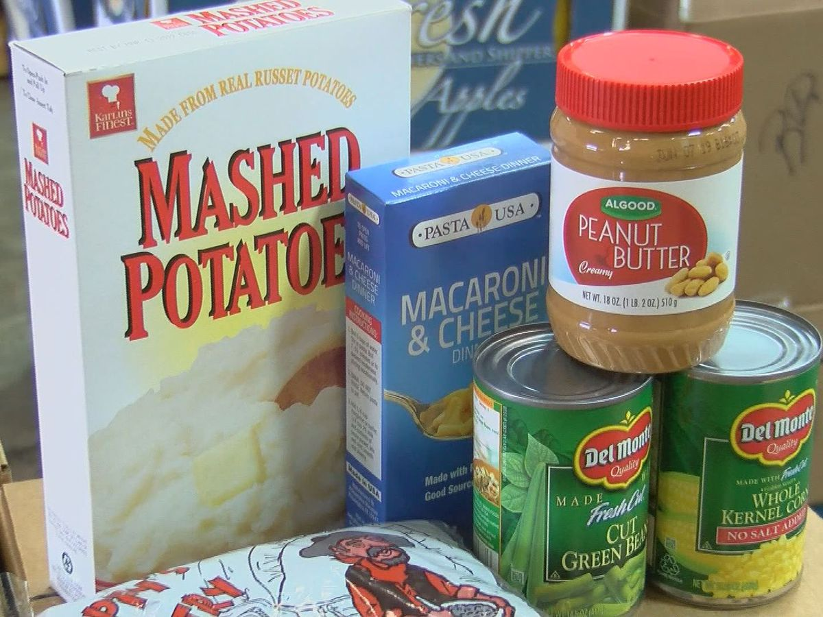 Government shutdown impacting food banks