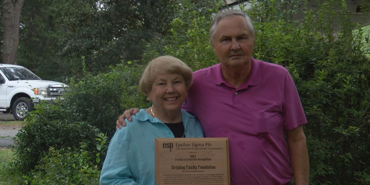 Camilla family receives recognition for agriculture support
