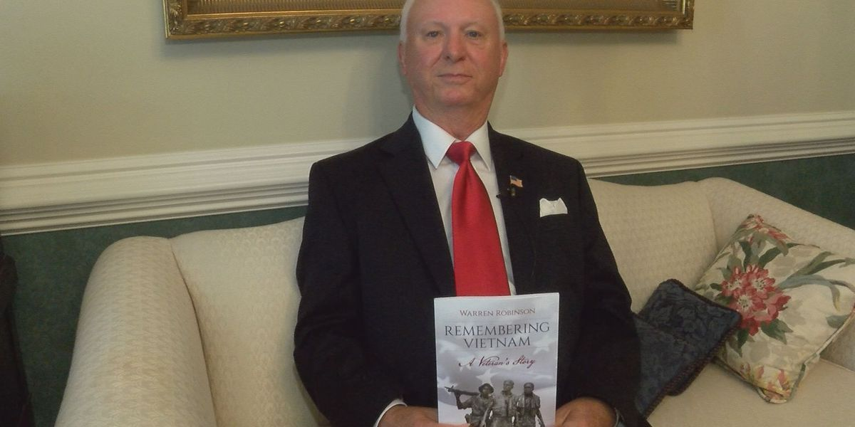 Vietnam veteran writes book to donate profits