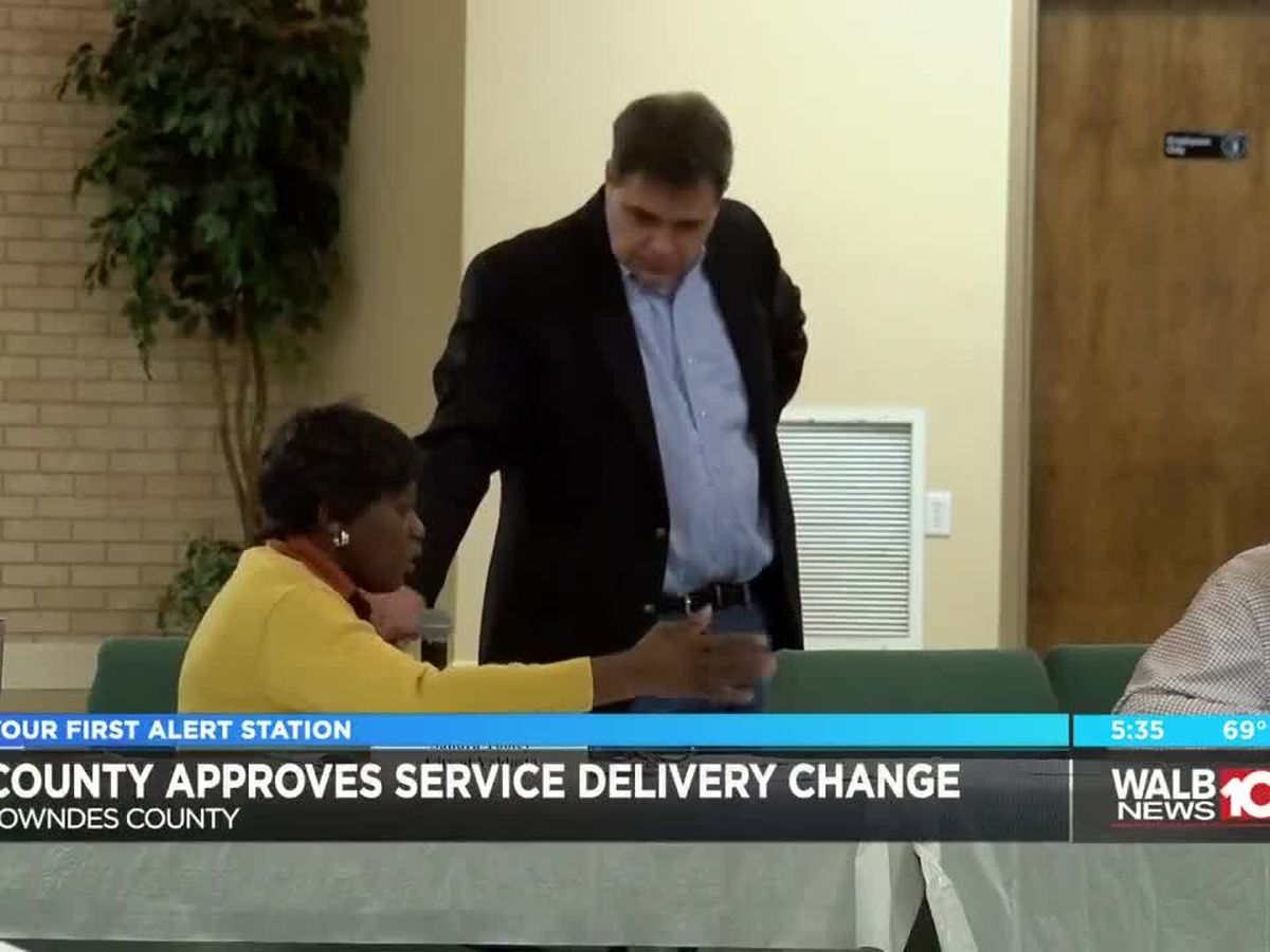 Lowndes commissioners approve Service Delivery Strategy change