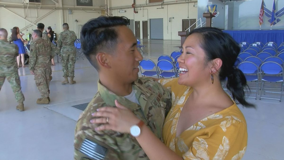 41st Rescue Squadron returns from deployment