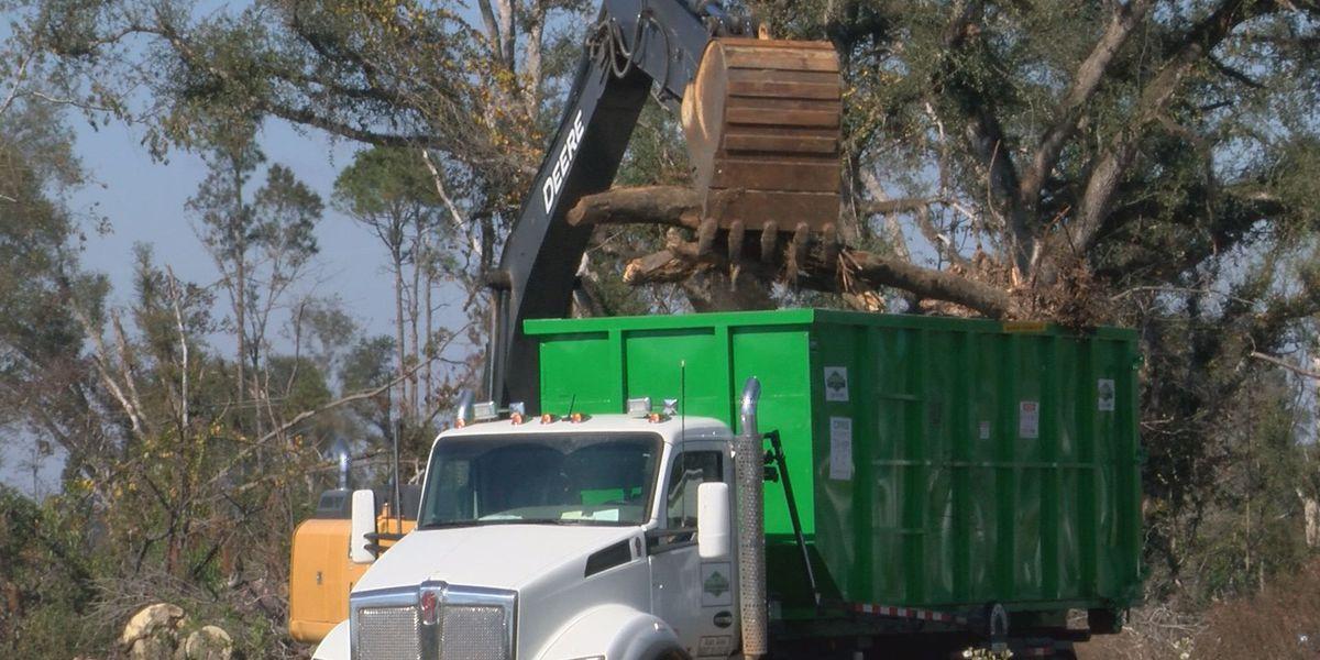 Crews begin cleanup in mobile home parks