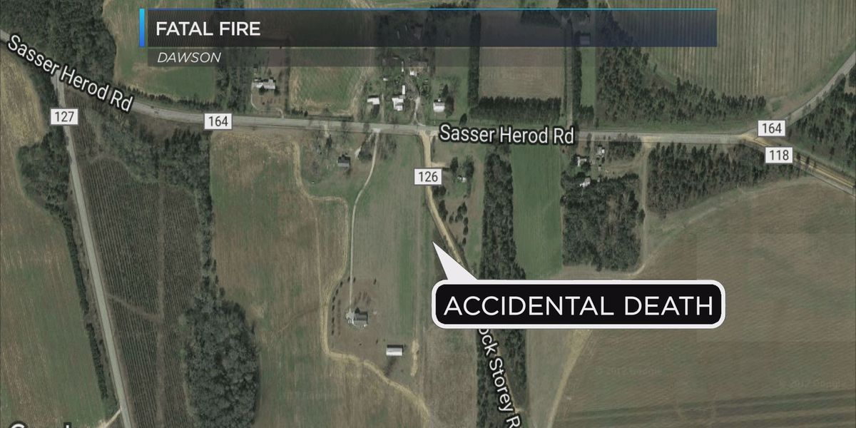 Officials rule deadly Terrell Co. fire an accident