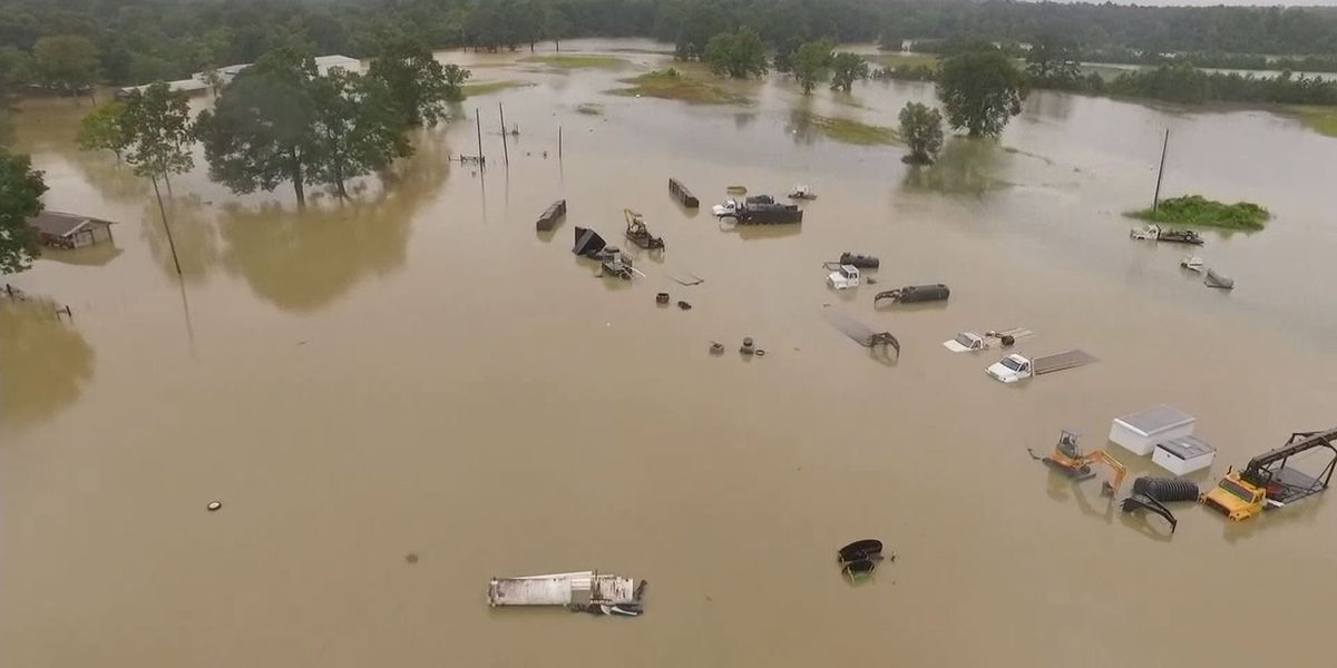 Day 8 for Red Cross volunteers in Louisiana