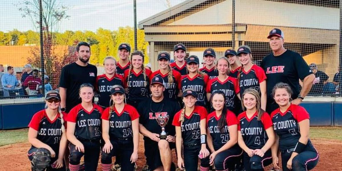 Lee County Trojans 6A fast-pitch state runner-up