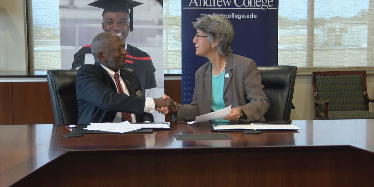 Andrew College and ATC sign historic agreement