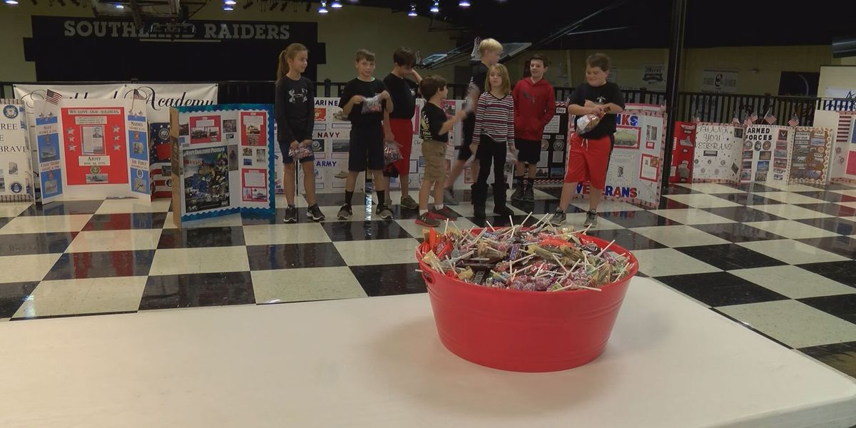 Sumter Co. Students learn about giving to others for Veteran's Day