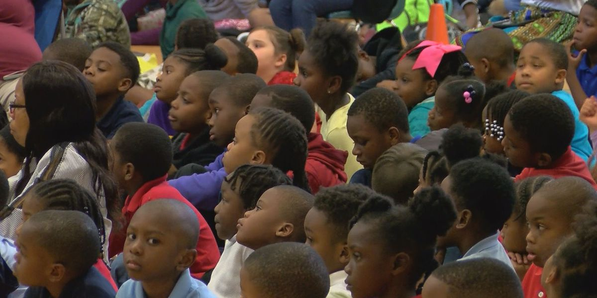 Dougherty Co. elementary school hosts Black History Month program