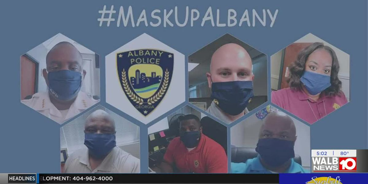 Local governments, non-profits join together to give out masks in Albany