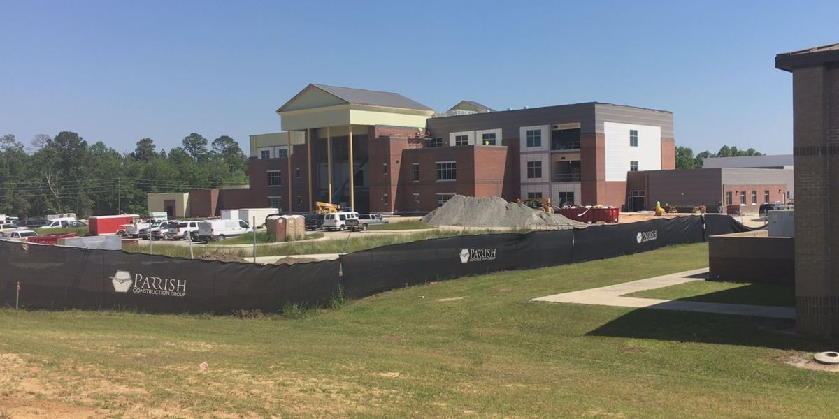 "Construction for Worth Co. high school is ""on time"""