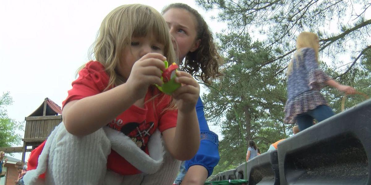 Easter hunt inspires future career, brings joy to children